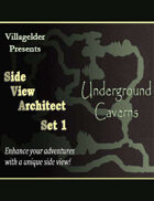 Side View Architect Set I - Underground Caverns