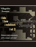 Side View Architect Set 2 - Subterranean Stronghold