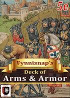 Fynnisnap's Deck of Arms & Armor [BUNDLE]