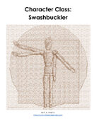 Swashbuckler Character Class for D&D and AD&D