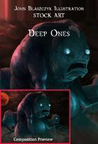 Monster - Deep Ones- Stock Art