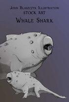 Monster - Whale Shark- Stock Art