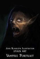 Monster -Vampire Portrait- Stock Art