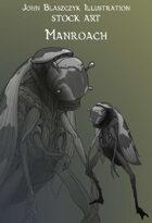 Monster - Manroach- Stock Art