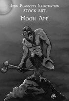 Monster - Moon Ape - Stock Art