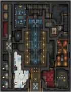 Aetherium - Axiom: Temple RPG Battle Map