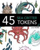 45 Sea Critter Tokens and More