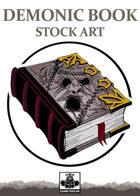 Demonic Book - Stock Art