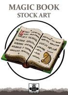 Magic Book - Stock Art