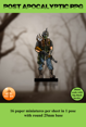 post apocalyptic rpg miniatures - scavenger test