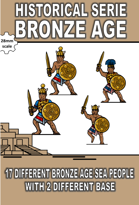H-BA-001- Bronze Age - Sea People Set 1
