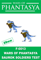 F-0013 - Fantasy Saurok Soldiers Test