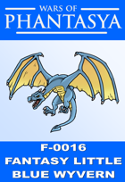 F-0016 - LITTLE BLUE WYVERN