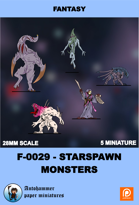 F-0029-starspawn Monsters