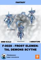 F-0028 - frost Elemental Demons Scythe