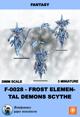 F-0028-frost Elemental Demons Scythe