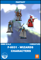 F-0031 - wizards Characters