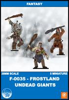 F-0035 - Frostland Undead Giants