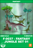 F-0037 - FANTASY JUNGLE SET 1