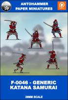 F-0046 - GENERIC KATANA SAMURAI