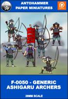 F-0050 - GENERIC ASHIGARU ARCHERS