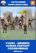 F-0052 - GENERIC HUMAN FANTASY CROSBOWMAN