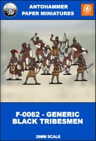 F-0062 - GENERIC BLACK TRIBESMEN