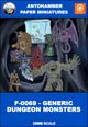 F-0069 - GENERIC DUNGEON MONSTERS