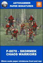 F-0070 - SKORMEK CHAOS WARRIORS
