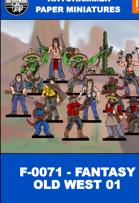 F-0071 - FANTASY OLD WEST 01