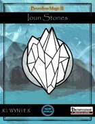 Boundless Magic 3: Ioun Stones