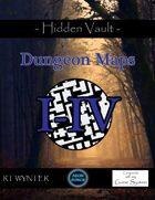 Hidden Vault: Dungeon Map Bundle 1