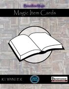 Magic Item Cards - Boundless Magic
