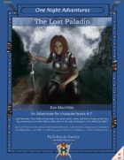 The Lost Paladin (Levels 4-7)