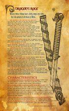 Artifact - Dragon's Rage