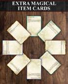 Extra Magical Item Cards