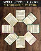 353 Spell Scroll Cards