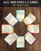 All DnD SRD Spell Cards [BUNDLE]