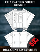 Character Sheet Bundle [BUNDLE]