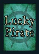 Lucky Pirate Blue Back
