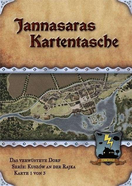Das verwüstete Dorf: Karte & Beschreibung (Kuszów 1 von 3)