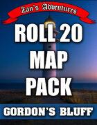 Roll 20 (VTT) Map Pack for Gordon's Bluff