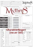 Mythras Charakterbogen