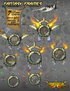 Fantasy Frames Pack 1 + 101 fantasy/scifi portraits