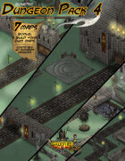 Isometric Dungeon Pack 4 - Fortress ruins