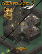 Isometric Dungeon Pack 5 - Looted Tower