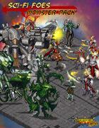 Scifi Foes, Isometric Monster Pack