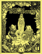 Random Encounters Map Collection Vol 1, Issue 1 (Aug 2018) High-Res