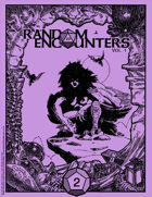 Random Encounters Map Collection Vol 1, Issue 2 (Sept 2018) REMC002LR