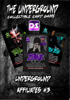 The Underground - Structure Deck - Underground Affiliates #3